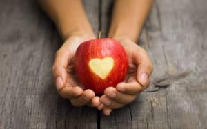 mood-apple-heart-girl-hd-wallpaper