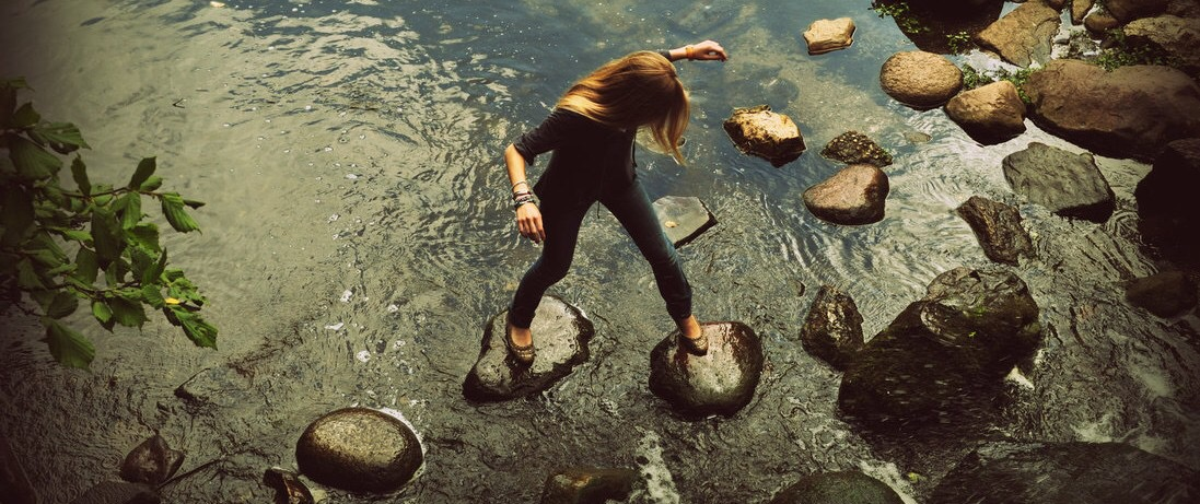 """stepping stones of my life 16 quotes have been tagged as stepping-stones:  truly stepping stones you need to cross over to the next phase of your life""""  """"my family stood right in."""