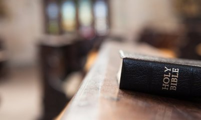 Bible-on-pulpit